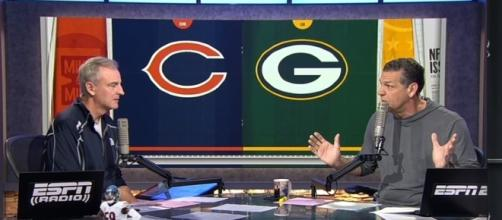 The Davante Adams injury had many analysts debating the hit - Youtube screen capture / ESPN