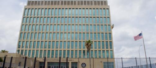 The US embassy in Havana, Cuba. Source;commons.wikimedia.org