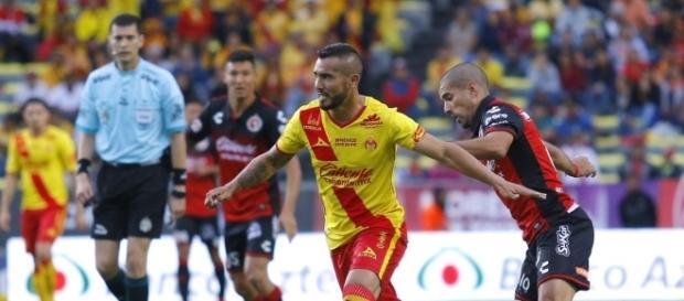 Dos goles de Valdés y uno de Vilchis le dieron la victoria a Morelia (Twitter - TDN)