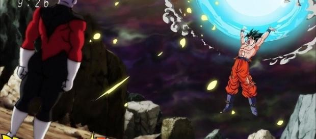 Jiren vs Goku on 'Dragon Ball Super' [Image Credit: YouTube/Ryo Sensei TV]