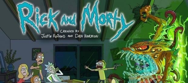 'Rick and Morty' cover art / [Promotional Materials via Adult Swim]