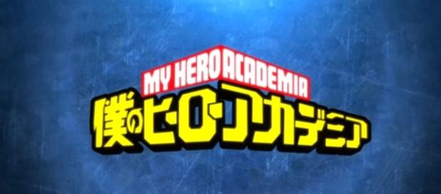 The official logo of My Hero Academia. Credits to: Youtube/Kaze