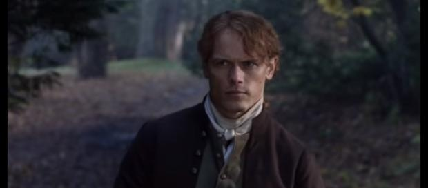 """The upcoming episode of """"Outlander"""" will show the new life of Jamie. [Image Credit: Starz/YouTube]"""
