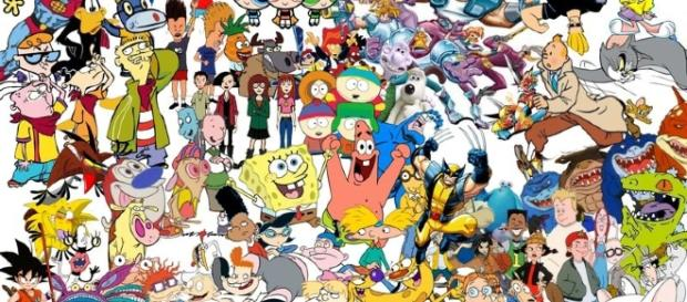 Una pequeña lista de los tantos dibujos animados de los '90
