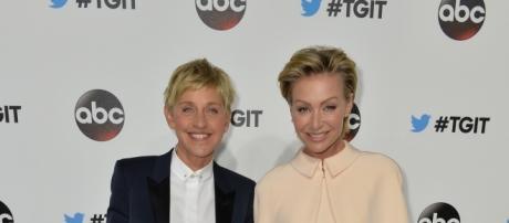 Ellen DeGeneres and Portia De Rossi Disney ABC Television via Flickr