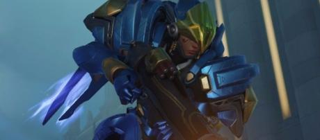 "Pharah is among the characters in ""Overwatch"" that has heavy firepower (via YouTube/PlayOverwatch)"