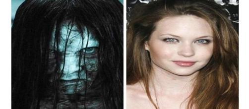 Antes e depois de atriz famosa.