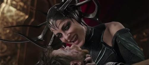 "Award-winning actress Cate Blanchett plays Hela, the Goddess of Death in ""Thor: Ragnarok."" (YouTube/Marvel Entertainment)"