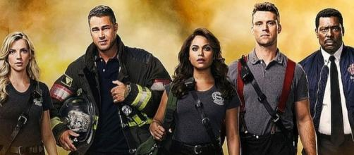 """""""Chicago Fire"""" returns for Season 6 on NBC on September 28 [Image: Entertainment Weekly/YouTube screenshot]"""