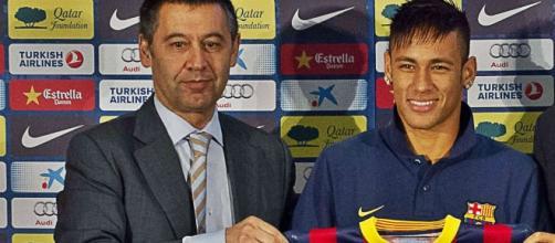 Escalade de violence entre Neymar et Josep Maria Bartomeu