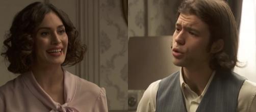 Il Segreto anticipazioni: Camila finge di essere amica di Damian