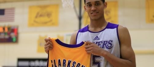 Jordan Clarkson | LA Lakers 2nd round … | Flickr - flickr.com