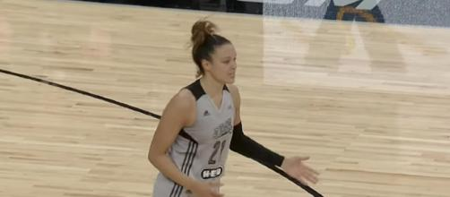 Kayla McBride scored a game-high 28 points to lead the San Antonio Stars to a win in their final game of the season. [Image via WNBA/YouTube]