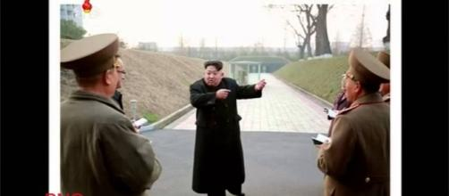 Kim Jong-un oversaw the testing of the hydrogen bomb on Sunday. Image credit - BNO News/YouTube.