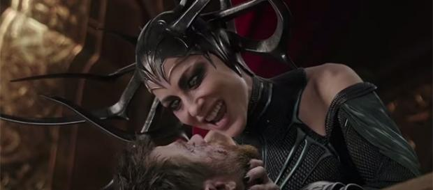 "Award-winning actress Cate Blanchett plays Hela, the Goddess of Death in ""Thor: Ragnarok."" (YouTube/Marvel Entertainment)"