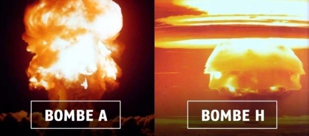 Bombe A et bombe H : quelle différence ?