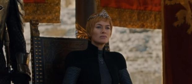 "Cersei Lannister meets with Daenerys in the ""Game of Thrones"" Season 7 finale. (Photo:YouTube/TheCell8)"