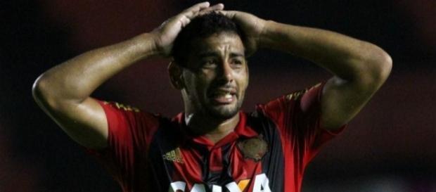 Diego Souza - jogador do Sport Recife