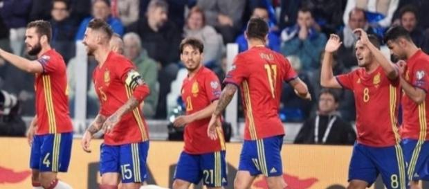 España se pone muy cerca del mundial de Rusia 2018 - proceso.hn