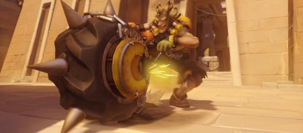 """Junkrat is one of the most popular """"Overwatch"""" heroes when it comes to defense (via YouTube/PlayOverwatch)"""