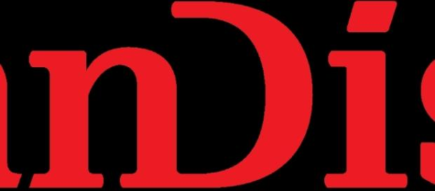 Sandisk Logo Image provided by Wikimedia.