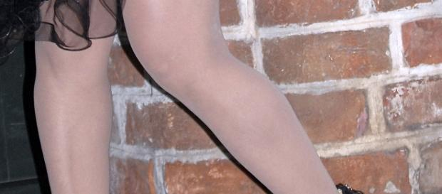 Wer schaut bei solchen Beinen denn nicht hin?