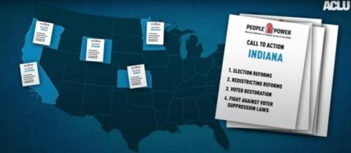 ACLU's People to Power voting campaign across America. [Screenshot from acluvideos via YouTube]