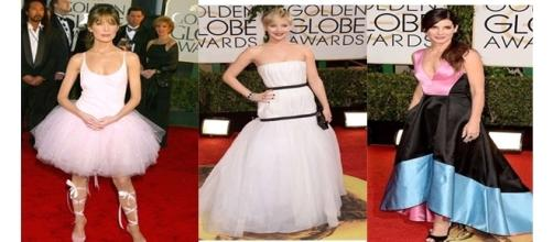Alguns modelos usados pelas famosas são bizarros (Fotos - Reprodução )