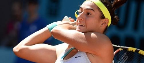 Caroline Garcia defeated qualifier Maria Sakkari in the semifinals, 6-3, 6-2. (Image Credit: Tatiana/Wikipedia Commons)
