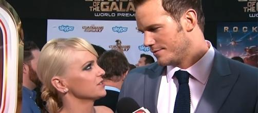 Chris Pratt and Anna Faris announced their separation back in August. (YouTube/Entertainment Tonight)