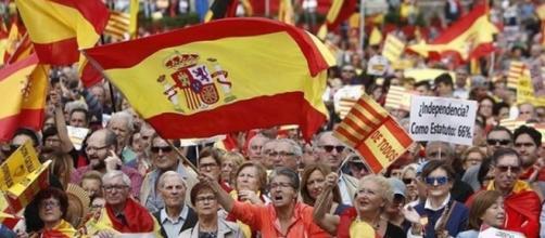 Convocadas decenas de marchas en toda España contra el 1-O - elespanol.com