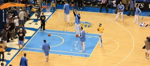 Denver Nuggets pregame shoot around | Flickr | David Herrera