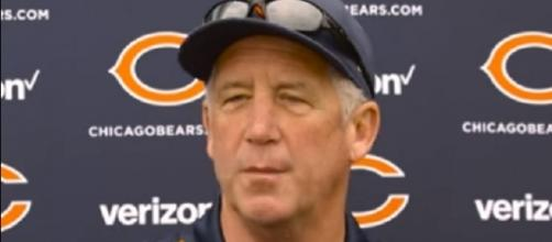 If John Fox will make a change, he has 11 days to prepare rookie Mitchell Trubisky -- Chicago Bears via YouTube