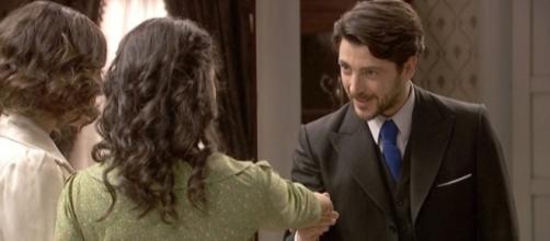 Il Segreto anticipazioni: Hernando e Nicolas attratti da Lucia
