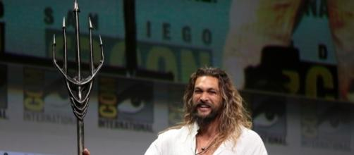 Jason Momoa at the 2017 San Diego Comic Con International for 'Aquaman' via Flickr Gage / Skidmore