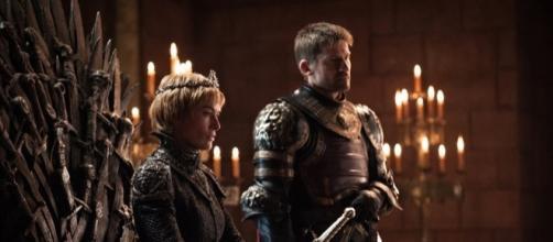 Lena Headey play Cersei Lannister and Nikolaj Coster-Waldau play Jaime Lannister on 'Game of Thrones.' ~ Facebook/GameOfThrones