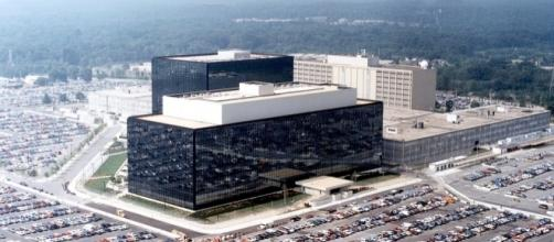 National Security Agency (NSA) Headquarters in Maryland. / [Image by NSA.GOV, Wikimedia, Public Domain]