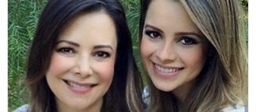 Noely e Sandy: muito parecidas (Foto - Instagram / Reprodução)