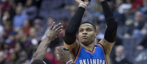 Russell Westbrook cannot stay. [Image Credit: Keith Allison/Wikimedia Commons]
