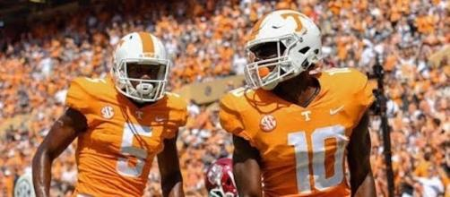 The Tennessee Vols will be hungry for an upset when they host No. 7 Georgia on Saturday afternoon. [Image via CBS Sports/YouTube]