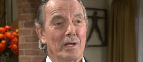 Victor Newman is at odds with son Nick. [YouTube screencap]
