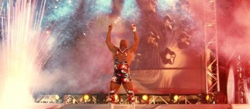 WWE news on why Kurt Angle is not wrestling yet [WWE / YouTube screencap]