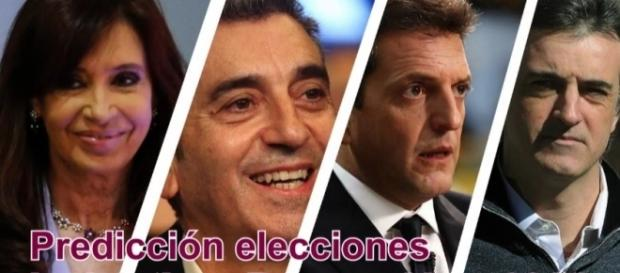 Candidatos a las legislativas 2017