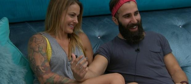 Christmas Abbott and Paul Abrahamian [Image via CBS/Twitter]