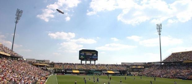 Columbus Crew Stadium MLS All stars (Photo via: Wikimedia Commons Rick Dikeman - Own work )