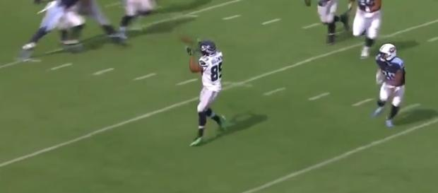 Doug Baldwin is listed as questionable for Week 4. - Youtube screen capture / FOX Sports