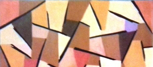 """Paul Klee,""""Harmonized struggle"""", cm 57 x 86 (1937)"""