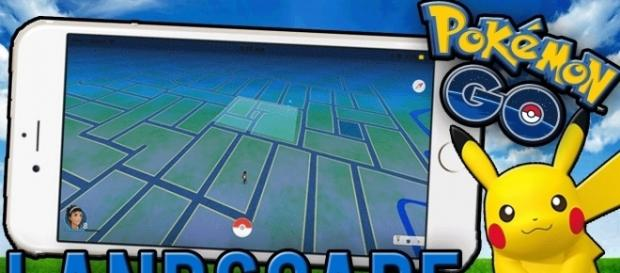 'Pokemon Go' neat trick to play the game in Landscape Mode (Image Credits: Danny G/YouTube Screenshot)