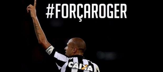 Roger do Botafogo é diagnosticado com doença grave (Foto Internet)