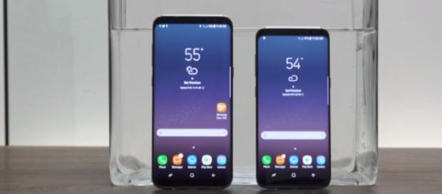 Samsung Galaxy S8 - (Image Credit: The Verge Channel/YouTube)